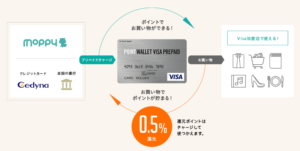 POINT WALLET VISA PREPAIDメリット4