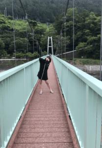 池田レイラさん親子の丹波山村の思い出・2019年7月29日