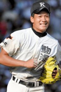 田中将大選手の高校時代