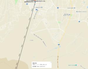 軽井沢おもちゃ王国から浅間山火口まで7.45km