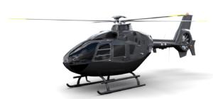 鮨裕・禅 提携6人乗りヘリのEurocopter EC135
