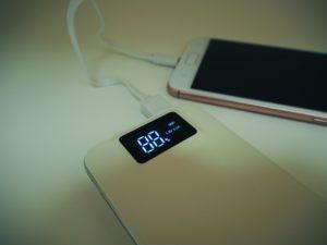 災害時に役立つモバイルバッテリー