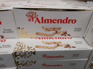 スペインのおすすめのお菓子・トゥロン1
