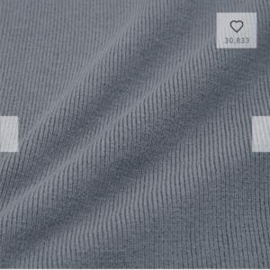 GU(ジーユー)のハイネックニットワンピース(長袖)生地質