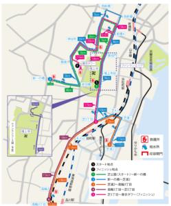 MINATOシティハーフマラソン2019コース